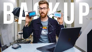 Let's Talk About Backup for Photographers & Filmmakers