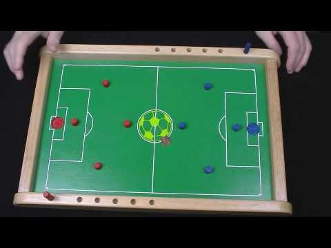 Penny Soccer Wooden Board Game Flick Penny To Score YouTube Awesome Homemade Wooden Board Games