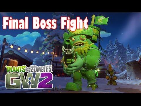 Plants vs. Zombies: Garden Warfare 2- Final Boss Fight (Captain ...
