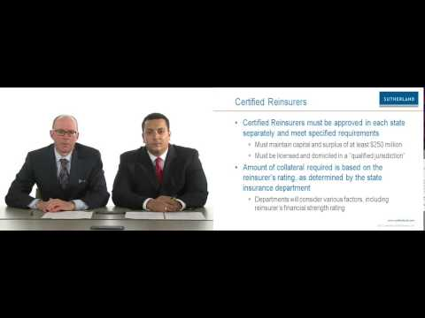 Videocast: Reinsurance Collateral Reform
