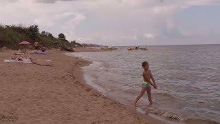 Отдых на море | Кучугуры 2018 | Краснодарский край | Пляж в конце поселка