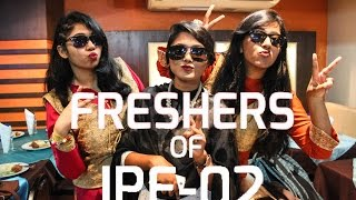 """Freshers"" of IPE-02 (MIST) Part-1"