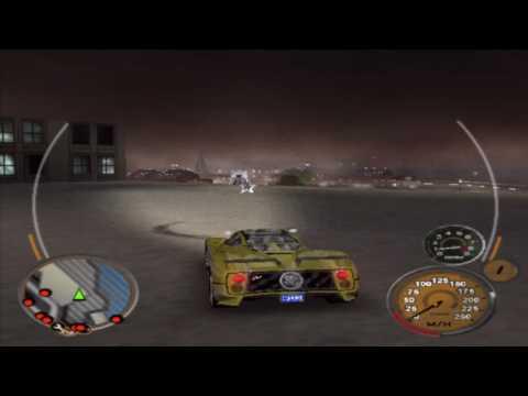 Midnight Club 3: DUB Edition Remix Gameplay Walkthrough - San Diego Rockstar Logo Location 11 of 12