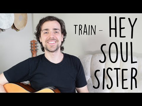 Hey Soul Sister - Easy Guitar Tutorial | Train - Simple Chords & Strumming, How To Play