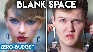 Download TAYLOR SWIFT WITH ZERO BUDGET! (Blank Space PARODY) Mp3 and Videos