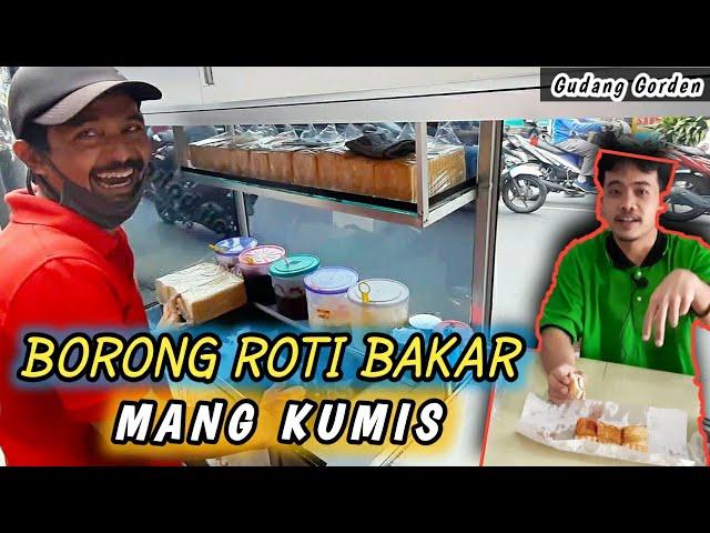 Borong Roti Bakar | Nyobain Roti Mang Kumis #makan