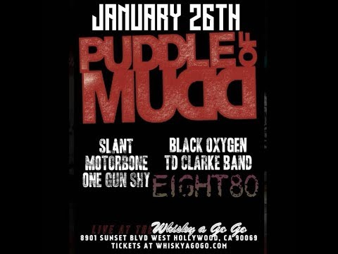 Puddle of Mudd - West Hollywood, CA - Concert Videos - January 26, 2018