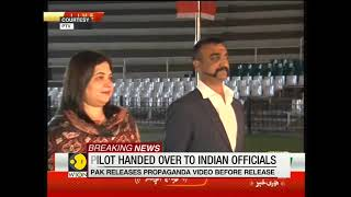 Breaking News: IAF pilot Abhinandan handed over to Indian High Commission officials