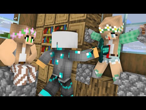 Diamond Man Life 36 - Minecraft Animations