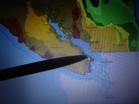 Hardiness Growing Zones Of B.C., Canada