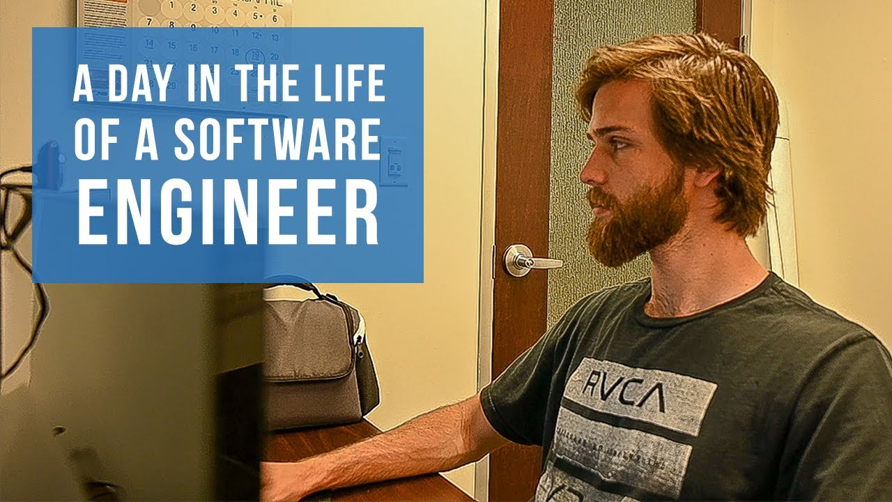 A Day In The Life Of A Software Engineer Youtube