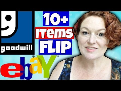 Best Items to Flip from Goodwill on Ebay - Buying Cheap to Resell for a Profit