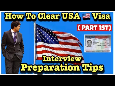 How To Clear USA Visa (Part # 1)