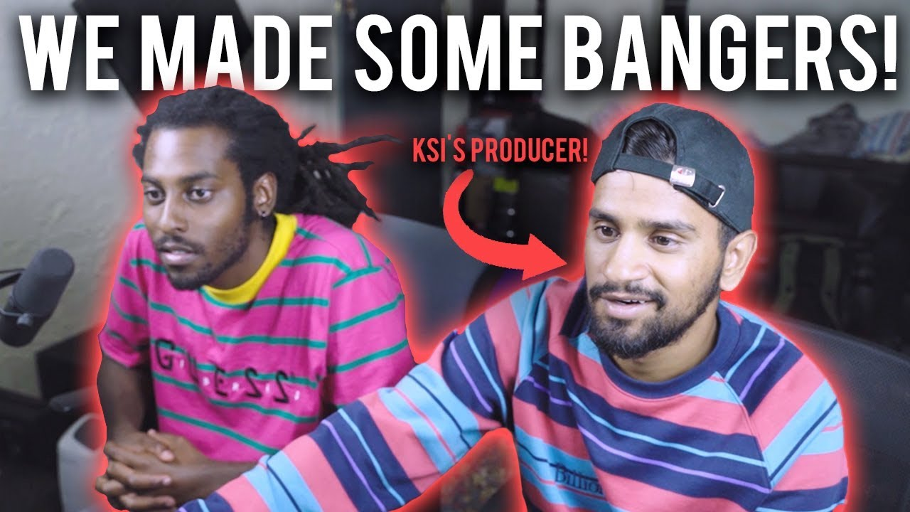 MAKING INSANE BEATS WITH ZEESHAN *KSI's & RANDOLPH's PRODUCER* | Music Producer Vlog