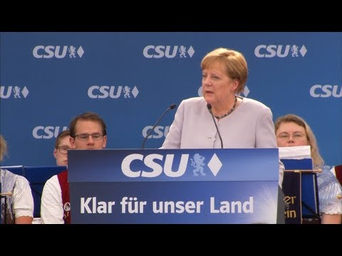 Angela Merkel: Europe must take its fate in its own hands