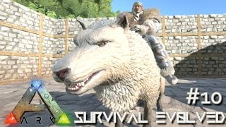 ARK: Survival Evolved - DIRE WOLF TAMING LVL 120 & NEW BIOMES UPDATE !!! [Ep 10] (Server Gameplay)