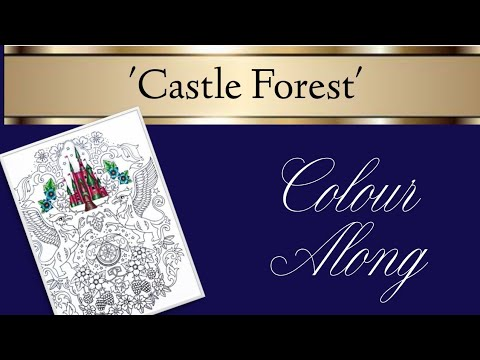 Inky Ivy Castle Forest Colour Along | Part One