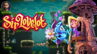 Sir Lovelot Review | Light precision platformer (Video Game Video Review)
