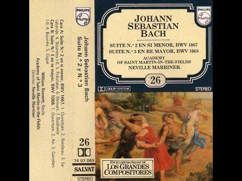 """Los Grandes Compositores"" [The Great Composers], HD/HQ CASSETTE #26: Johann Sebastian Bach"