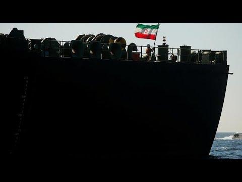 Petroleiro iraniano sai de Gibraltar