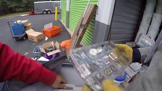 We found a treasure box toys versus tools part 5 Storage auction unit cleaned out tons of jewelry