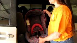 How to install the Safety 1st Onboard infant seat without base