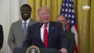 The White House - President Trump Delivers Remarks on Second Chance Hiring