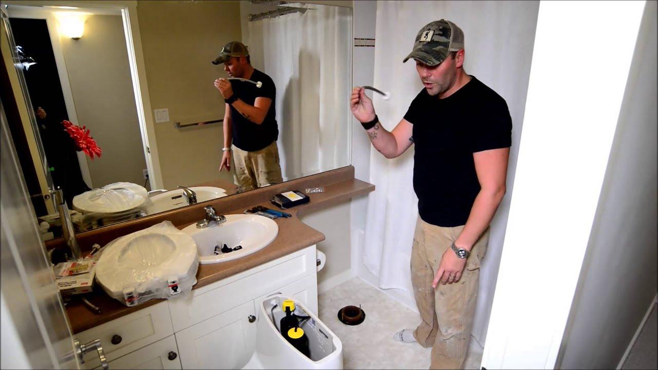 How to Install a Kohler Santa Rosa Toilet