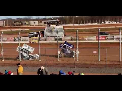 Heat race 1. - dirt track racing video image