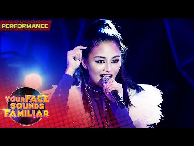 Vivoree as Sarah Geronimo | Tala | Your Face Sounds Familiar 2021