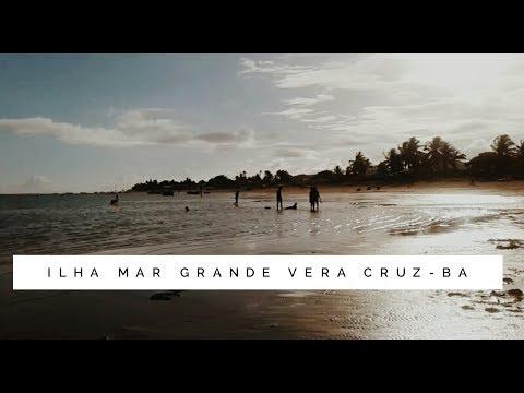 Trip/Vlog Ilha Mar Grande Vera cruz-Ba  🌴🌞🌊