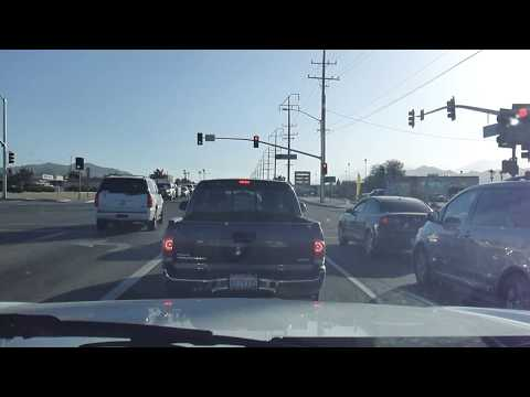 Drive from Yucca Valley to Palm Desert California (DASHCAM)