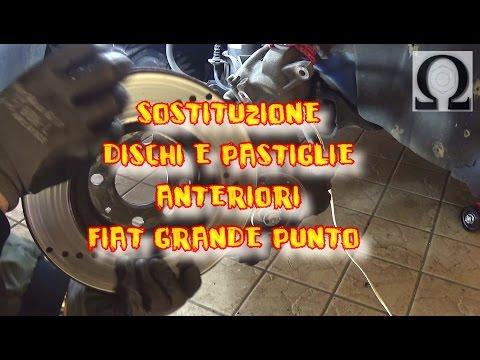 TUTORIAL COME CAMBIARE LE PASTIGLIE E I DISCHI DELLA GRANDE PUNTO 199