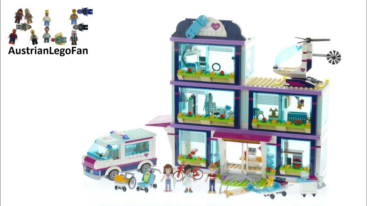Lego Friends 41318 Heartlake Hospital Lego Speed Build Review