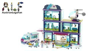 Lego Friends 41318 Heartlake Hospital Speed Build