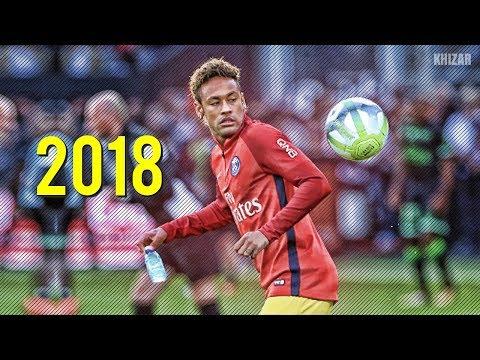 Neymar Jr ● Best Freestyle Skills in PSG 2017/18   HD