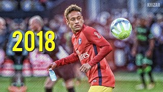 Neymar Jr  Best Freestyle Skills in PSG 201718  HD