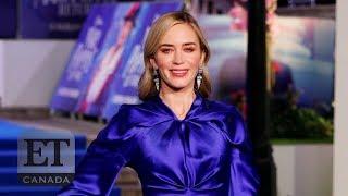 Emily Blunt Talks 'Mary Poppins Returns'