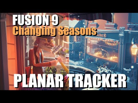 Fusion 9 - Using PlanarTracker to change seasons! ( Presentation for InterBEE Tokyo)