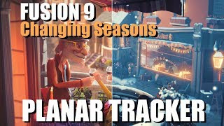 Fusion 9 - Using PlanarTracker to change seasons! ( Presentation for InterBEE Tokyo)