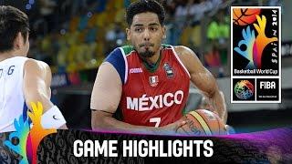 Korea v Mexico - Game Highlights - Group D - 2014 FIBA Basketball World Cup