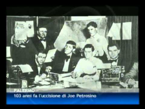 12/03/12 - 103 anni fa l'uccisione di Joe Petrosino