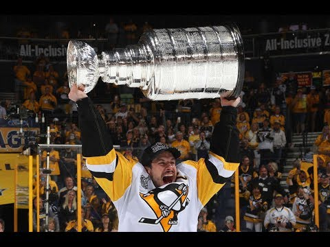 Pittsburgh Penguins Receive the 2017 NHL Stanley Cup.