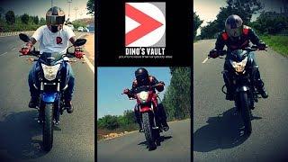 Pulsar 160 NS vs Gixxer, Hornet, FZ V2.0, RTR 160 Shootout #Bikes@Dinos