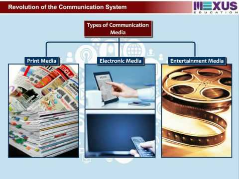 Role Of Communication Media - (Social Science) - Iken School - (English Audio)