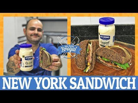 COMO FAZER UM DELICIOSO NEW YORK SANDWICH | Ana Maria Brogui #498