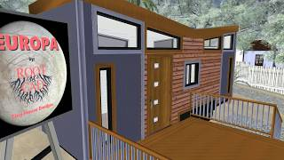 """EUROPA"" RootCAD Tiny House Design"