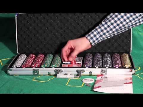 Обзор покерного набора Royal Flush Lux на 500 фишек