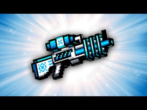 Pixel Gun 3D - Freeze Ray Rifle UP1 [Review]