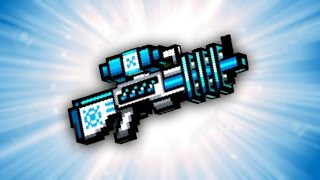 Pixel Gun 3D - Freeze Ray Rifle UP1 [Review]